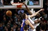 Video: 'Danks' pāri Porziņģim atzīts par otro skaistāko dienas epizodi NBA