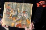 Pirms deviņiem gadiem nozagta Degā glezna nejauši atrasta autobusā