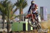 ВИДЕО: Латвийский мотогонщик Йонас — третий на Гран-при Катара MX2