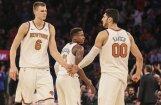 'Knicks' centrs Kanters: Porziņģis saglabā optimismu; vēlas pēc iespējas ātrāk sākt rehabilitāciju