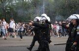 Nekārtībās pirms Polijas un Krievijas izlašu spēles Varšavā aizturēti 100 fani