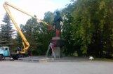 Волна вандализма: в Лудзе осквернили сразу два памятника жертвам Второй мировой войны