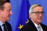 Junkers vēlas ātru Lielbritānijas izstāšanos no ES