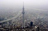 Fotoreportāža: Tokijas 'Debesu koks' - augstākais TV tornis pasaulē