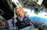 Pasaulē daiļākā lidmašīnas pilote – zviedriete Marija