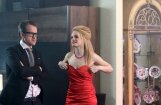 Foto: Jūlija Krūmiņa villā sāk filmēt jaunu latviešu komēdiju 'Blēži'