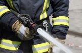 Sestdien ugunsgrēkā cietis viens cilvēks
