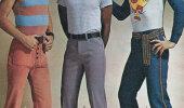 Vīriešu mode septiņdesmitajos