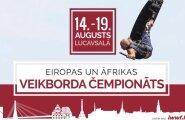 Pirmo reizi Latvijā norisināsies Eiropas Čempionāts veikbordā