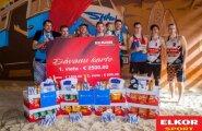 Elkor Sport pludmales volejbola līgas 4.sezonas finālā uzvaru izcīna Toms Šmēdiņš un Kaspars Salmiņš