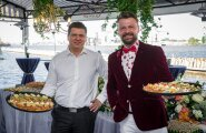 Restorāns 'Hercogs' Ķīpsalā atklāj terasi ar labāko skatu uz Vecrīgu