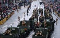 Foto: Nacionālo bruņoto spēku militārā parāde Rīgā