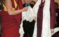 Prezidente tiekas ar Dalailamu