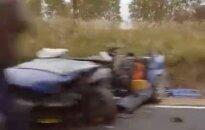 Uz Siguldas šosejas smags negadījums - divi bojāgājušie; satiksme atjaunota