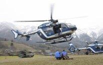 Foto un video: Izmeklētāji pārtrauc 'Germanwings' avārijā bojāgājušo meklēšanu (plkst. 21:40)