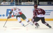Rīgas 'Dinamo' izdara tikai 15 metienus un gūst skaistu uzvaru Kazaņā