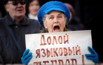 Kučinska ieceri likvidēt krievu skolas draud apkarot pat ar Donbasa karotāju 'palīdzību'