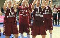Latvijas basketbolistes Eiropas čempionātā ieņem ceturto vietu