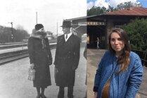 Māras Upmanes-Holšteines dzelzceļa pieturu atmiņu punkti