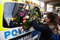 Stokholmas teroraktā bojā gājis arī suņuks Igijs