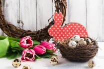 Dari pats: ideju vācelīte pašdarinātiem Lieldienu dekoriem