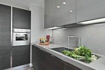 Modernas virtuves panākumu atslēga – mēbeles bez rokturiem