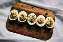Pildītas olas ar tunci