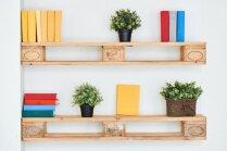 Praktiski un glīti: kolosālas idejas plauktiem dažādās telpās
