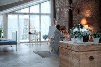 ФОТО: Квартира в одной комнате, или Мансарда с видом на Зиедоньдарзс