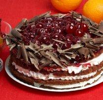 Švarcvaldes ķiršu torte jeb 'Kaprīze'