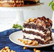 Grēcīgi gardā 'Snickers' kūka