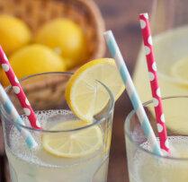 Mājās gatavota limonāde