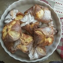 Молдавские плацинды – пирожки со сладким творогом