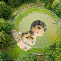 ФОТО: Необычный дом в бывшем водном резервуаре, который продается за €1 000 000
