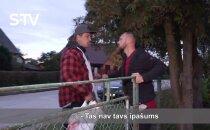 Video: Magones Šutovienes vīrs skaidro attiecības ar Venti Vītolu