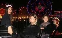 Reti foto: Megana Foksa atrāda savus trīs brašos dēlēnus