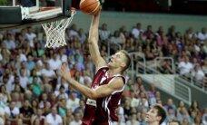 Latvijas basketbolisti pēdējā pārbaudes spēlē pirms EČ sagrauj Somiju