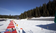 Cēsnieks Praulītis uzvar Ziemassvētku balvas izcīņā biatlonā sprinta distancē