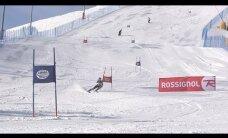 Video: Latvijas slēpotāji Somijas kalnos cīņā par Baltijas kausu
