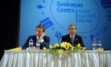 Ušakovs un Ameriks apņēmības pilni Rīgas domē iegūt absolūto vairākumu