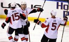 Daugaviņa pārstāvētā 'Senators' ar zaudējumu noslēdz NHL regulāro čempionātu