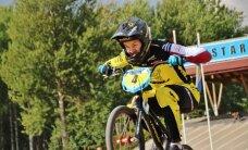 Aleksejevai trešā vieta; Latvijas jaunajiem BMX braucējiem septiņas godalgas