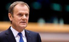 Tusks: debates ES par Poliju ir 'bēdīgs notikums'