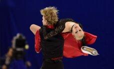 Daiļslidotāji Jakušina un Ņevskis Eiropas čempionātā ieņem 22. vietu dejās uz ledus