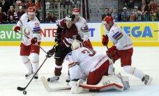 Latvijas hokeja izlase aizvada pirmo pārbaudes spēli mājās pirms PČ