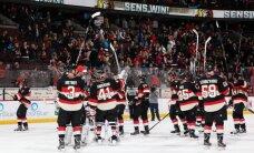 Stenlija kausa izcīņas otrajā kārtā iekļūst arī 'Senators' un 'Blackhawks'