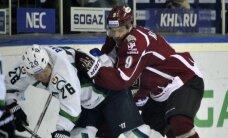 Rīgas 'Dinamo' izbraukumu turpina ar zaudējumu Hantimansijskā