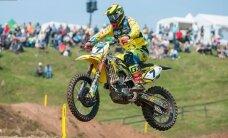 Latvijas motokrosists Leons Kozlovskis iekļūst TOP5 veterānu Pasaules kausa sacensībās