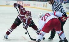 Rīgas 'Dinamo' savā laukumā uzņem KHL līderus 'Lokomotiv'