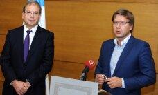 SC un GKR Rīgā vēlēšanām piesaka 63 kandidātus; līderi - Ušakovs un Ameriks